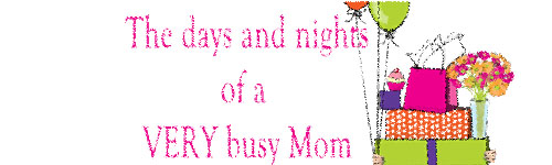 The days and nights of a VERY busy Mom
