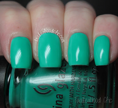 china glaze sunsational keepin it teal review swatches