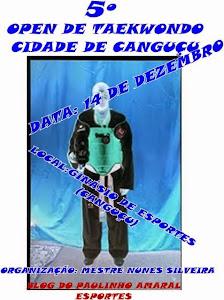 OPEN DE TAEKWONDO/GINÁSIO MUNICIPAL DE CANGUÇU
