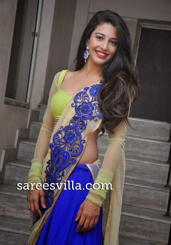 Dhaksha In Full Sleeves Blouse