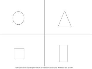 ejercicio para aprender las figuras geometricas