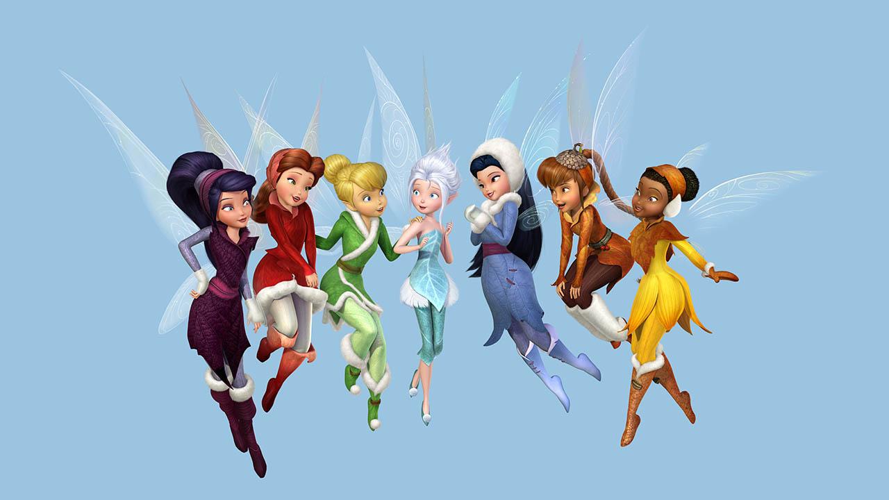 Vistoso Hadas De Disney Para Colorear Páginas Rosetta Composición ...