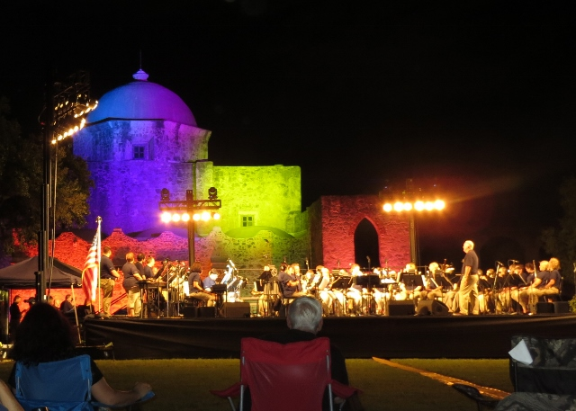 Music Under the Stars, Mission San Jose, San Antonio, Texas, September 23, 2016