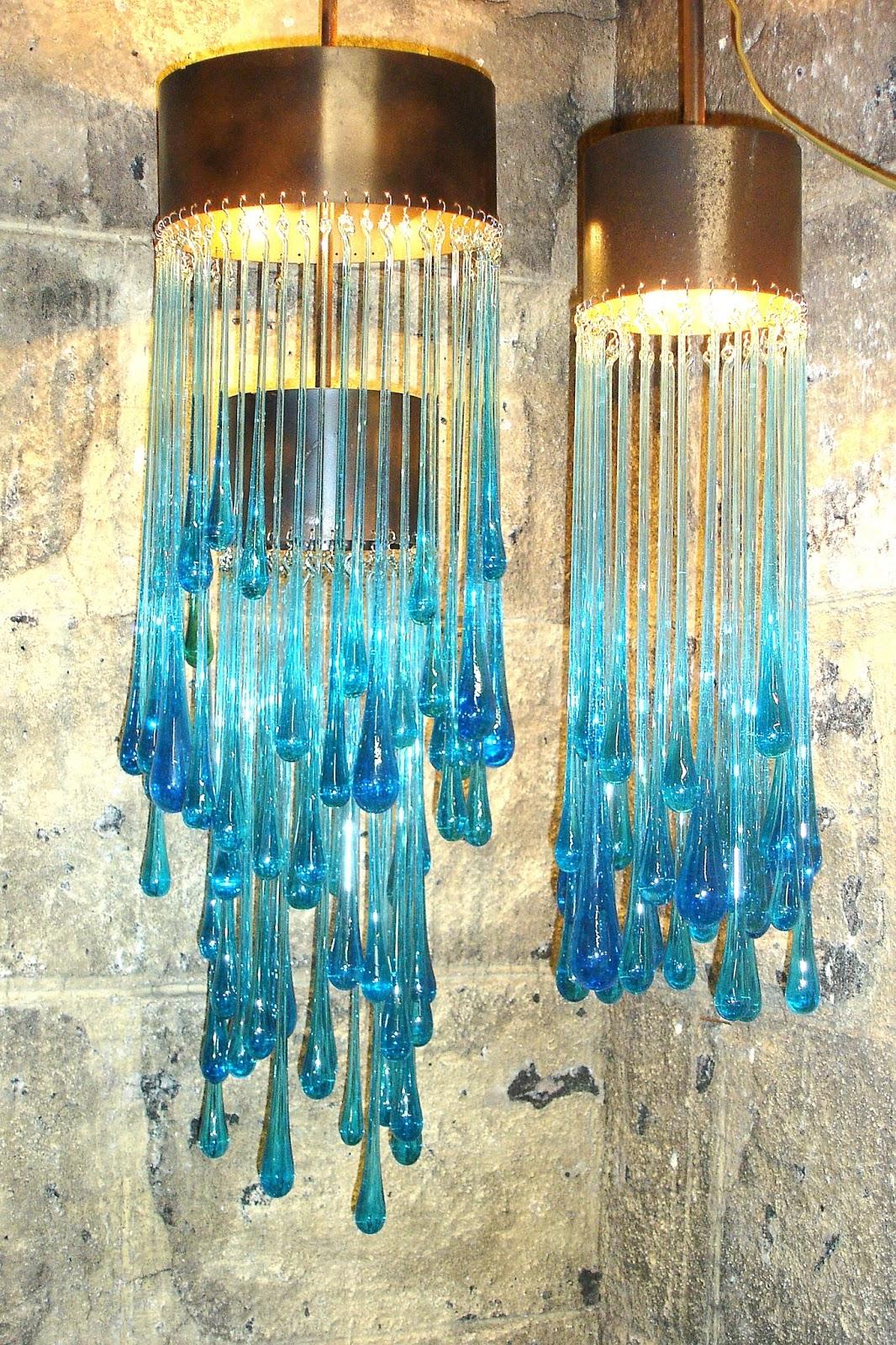 Febrero es as modernas l mparas de cristal - Lamparas de cristal de colores ...