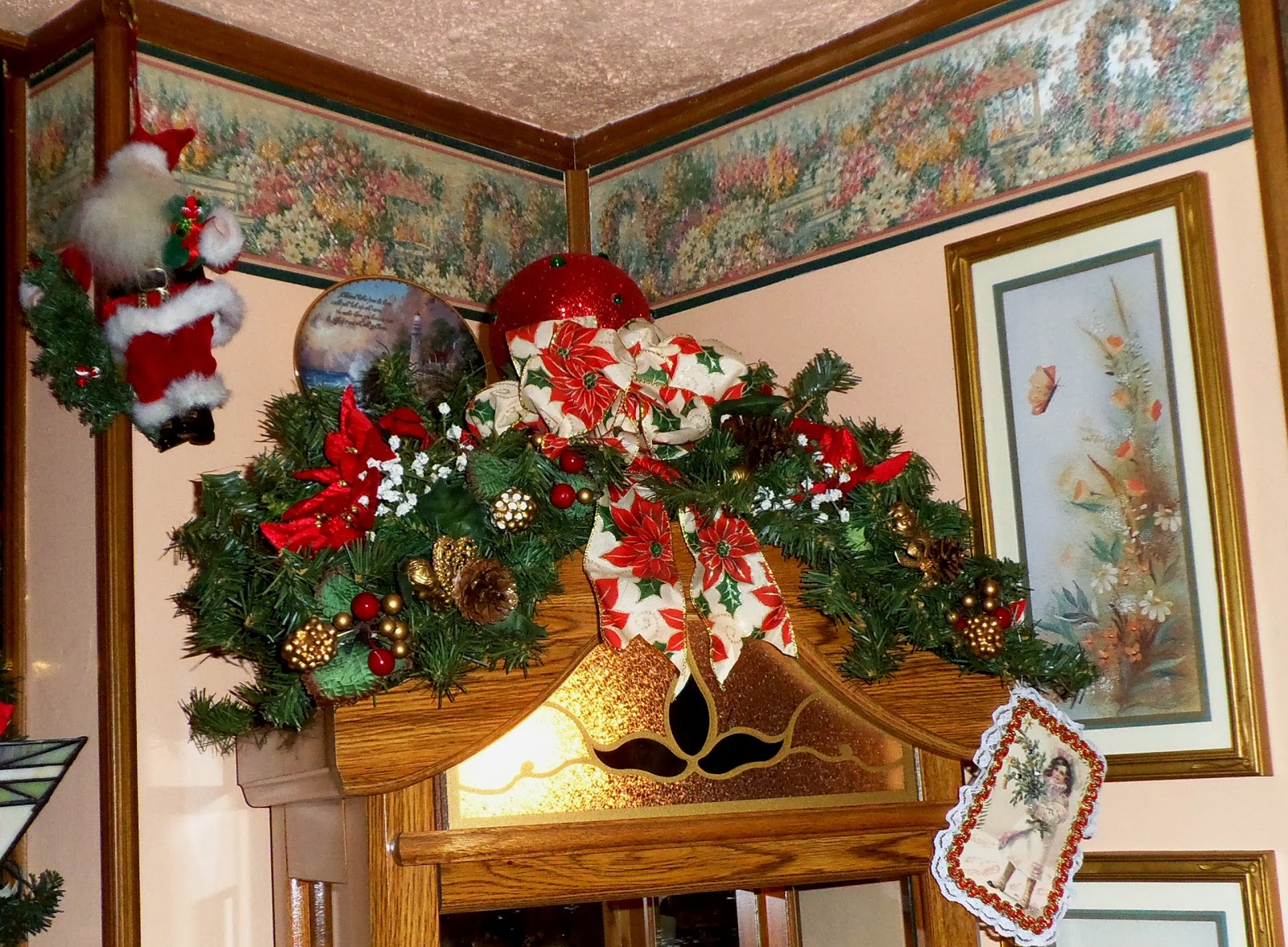 A DEBBIE-DABBLE CHRISTMAS: 2013 Christmas Home Tour, Part 2, An Old Fashioned Christmas in the ...