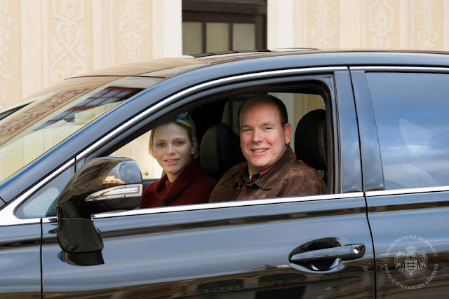 Prince Albert of Monaco and Princess Charlene of Monaco