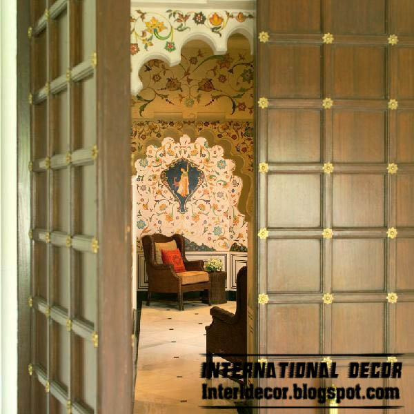 Indian decor ideas interior designs with culture touch for Interior door designs india