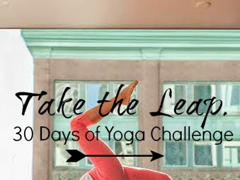 Take The Leap: 30 Days of Yoga