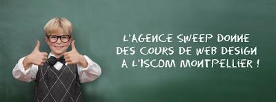 Cours de Web design à l'ISCOM Montpellier
