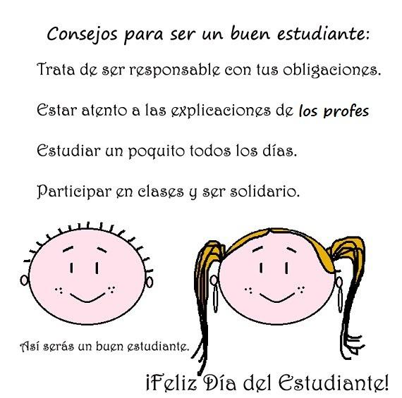 INSTITUCION EDUCATIVA SANTA CECILIA: FELIZ DIA DEL ESTUDIANTE