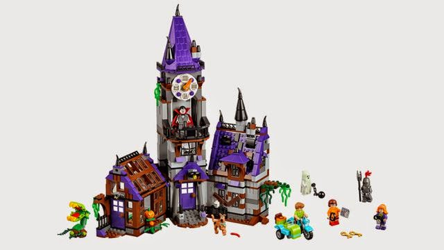 Toyriffic: First Look :: LEGO Scooby Doo minifigures and playsets ...