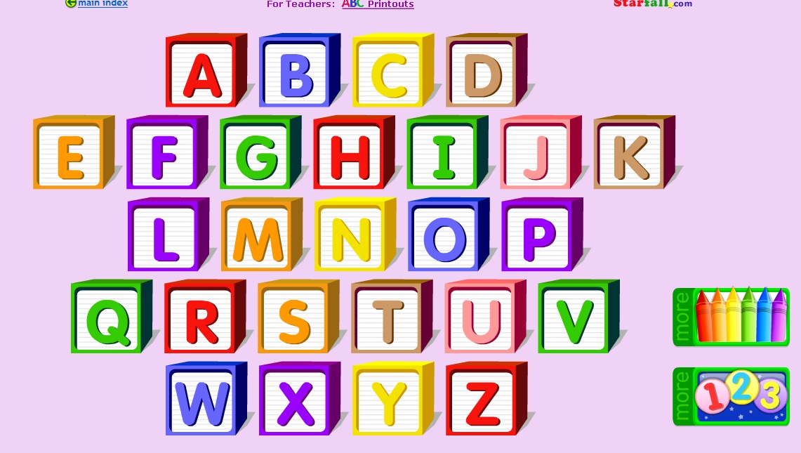 aprendo el abecedario en ingles