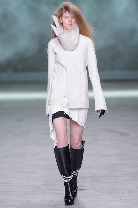 Caitlin Holleran - Cast Images Model - Rick Owens  - Paris Fashion Week