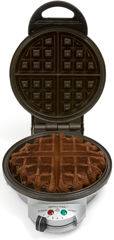 Pinstrosity: Waffle Iron Brownies