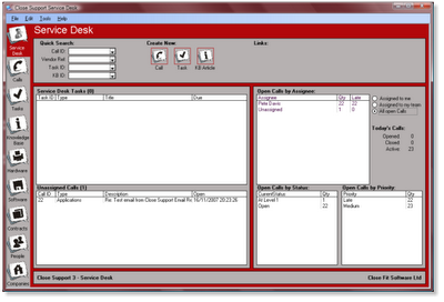 Close Support Service Desk | help desk service software