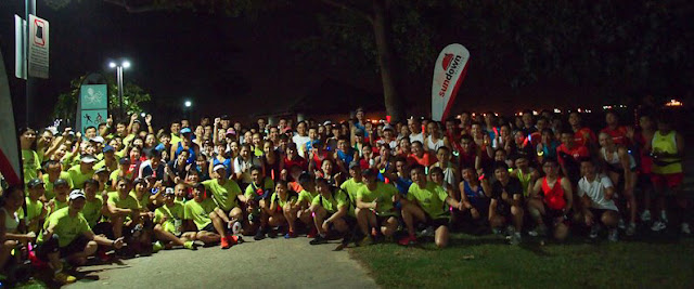 Sundown Marathon 2012: Lead Up Run #1 – The Night