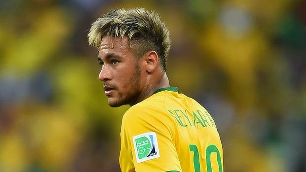 Neymar Hairstyle 2014 World CupNeymar 2014 Hairstyle