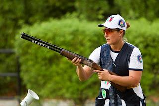 Chiara Cainero - Itália - Skeet - Copa do Mundo ISSF de Tiro ao Prato 2013 - Tiro Esportivo