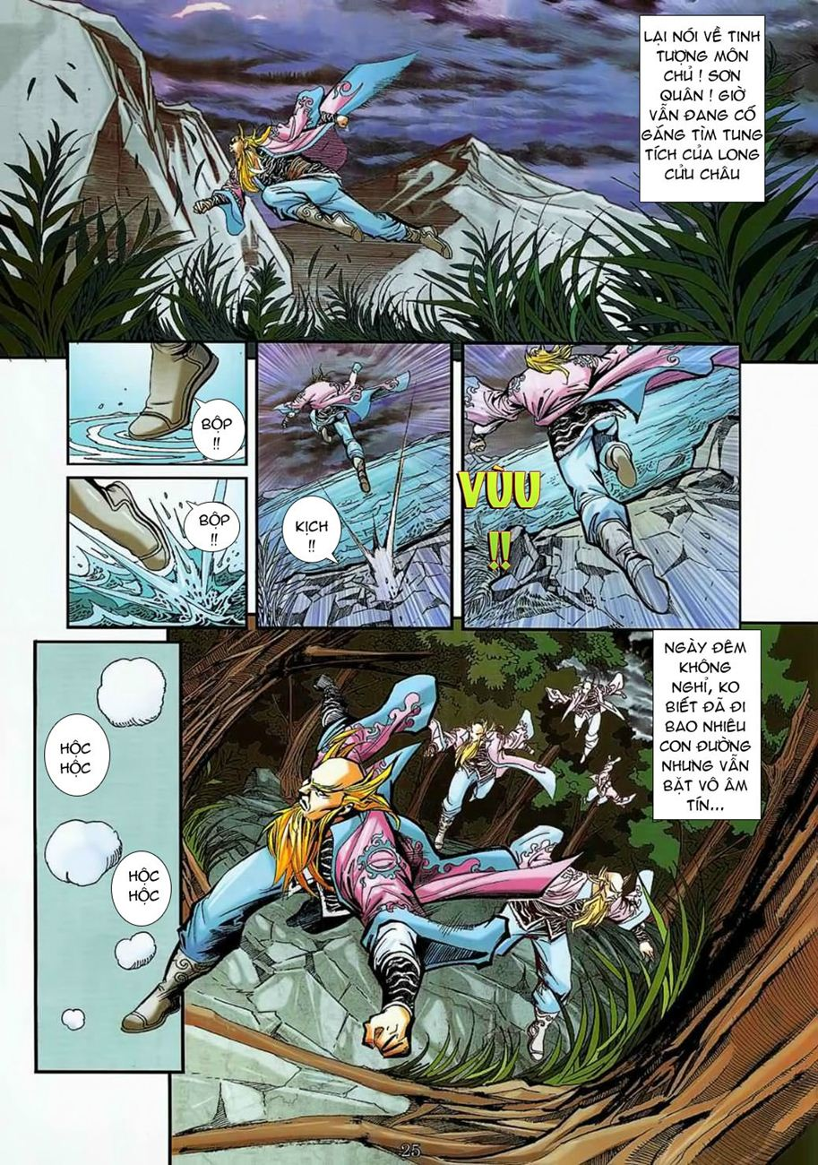 Thần Chưởng Long Cửu Châu chap 8 - Trang 25
