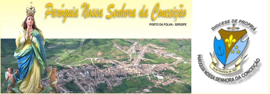 PARÓQUIA DE PORTO DA FOLHA