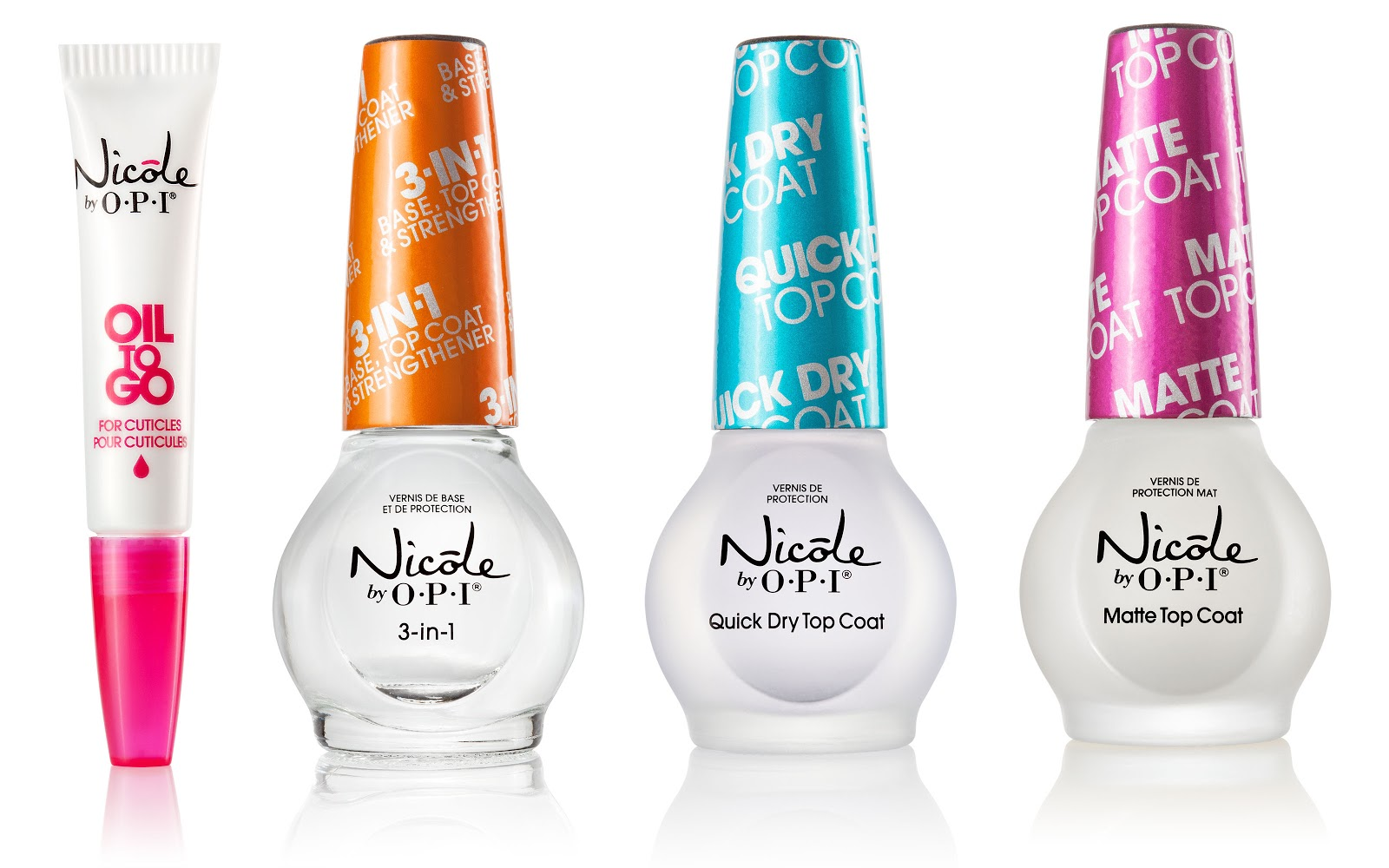 Wacky Laki: Review of Nicole by OPI Top Coats & Treatments for 2014