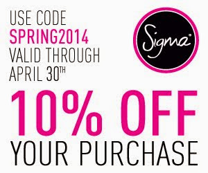 Sigma April 10%OFF code
