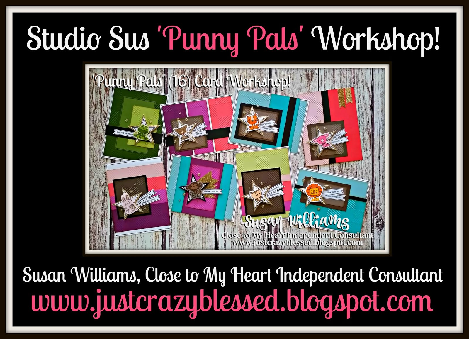 'Punny Pals' Cardmaking Workshop!
