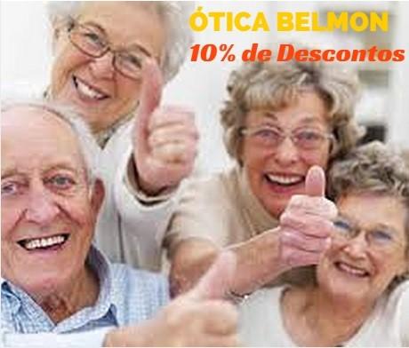 10% em Ótica para Idosos e Aposentados