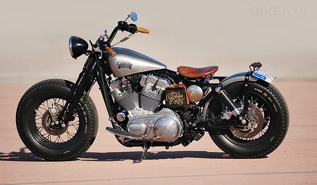 motorcycles  Sportster Bobber