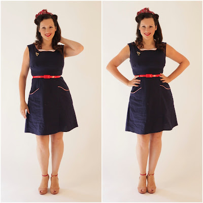 Julia Bobbin Rooibos dress by Colette Patterns