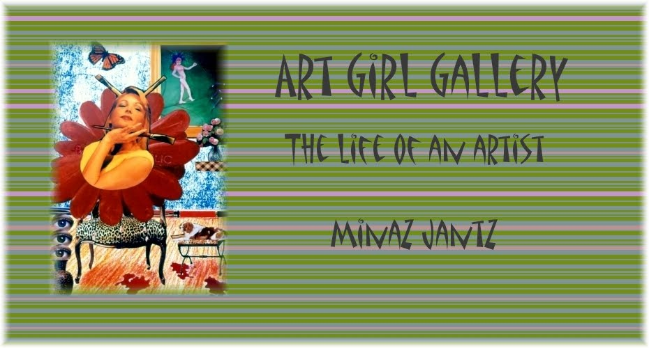 The Life of an Artist written by Minaz Jantz 'Artgirlgallery.com'