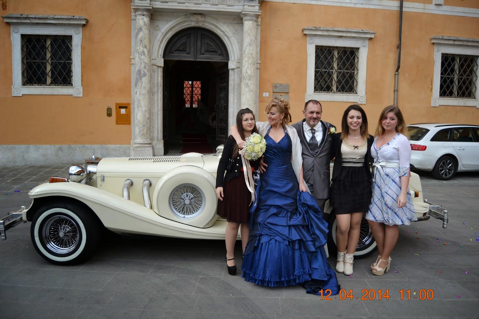 Wedding princess at the Pisa