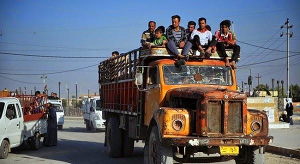 Туркменские семьи возвращаются в Тель-Афар