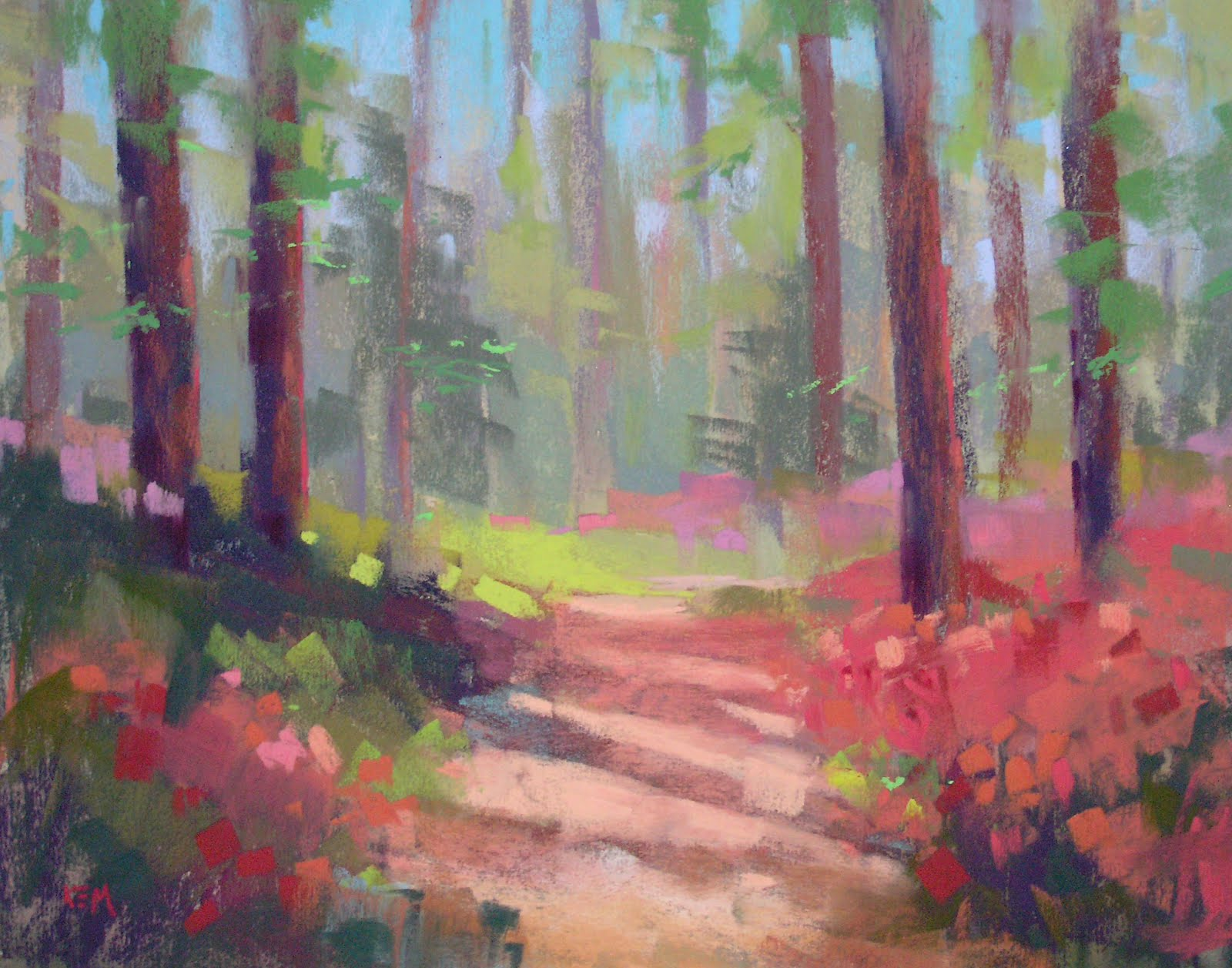 Painting My World: Tips for Painting the Spring Landscape
