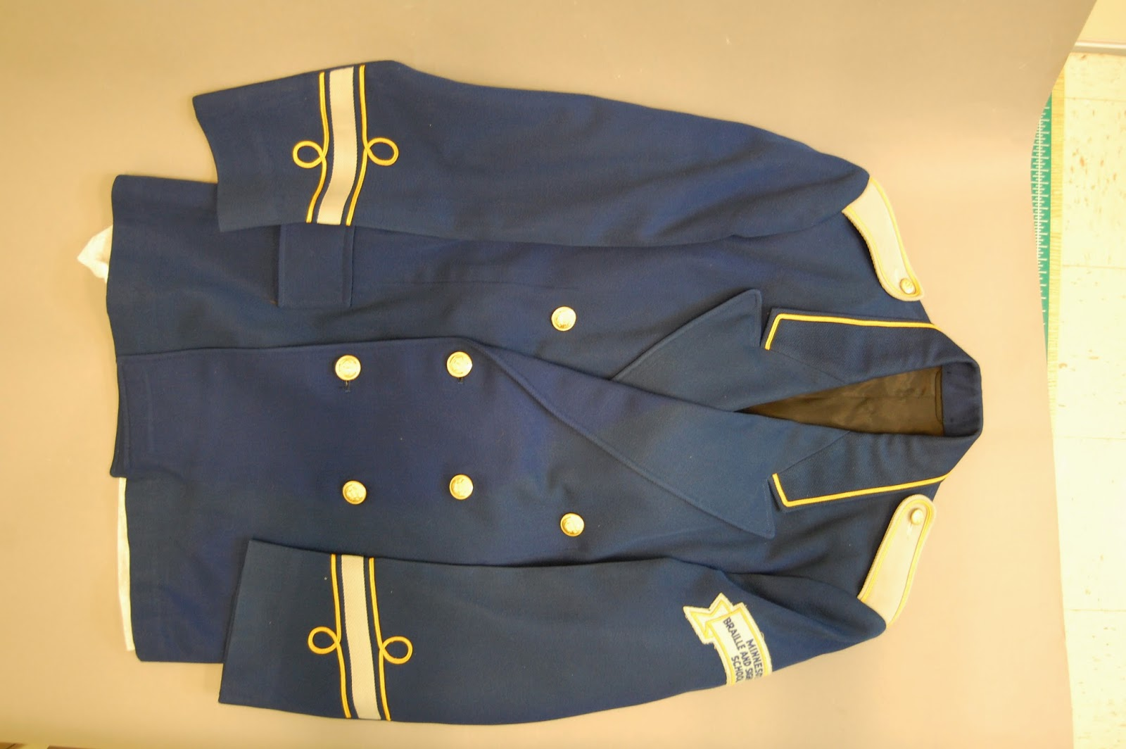 Minnesota Braille School for the Blind band uniform