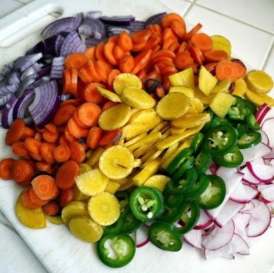 Spicy Pickled Radish