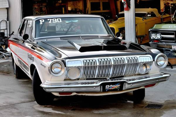 dodge  sedan post race car buy american muscle car