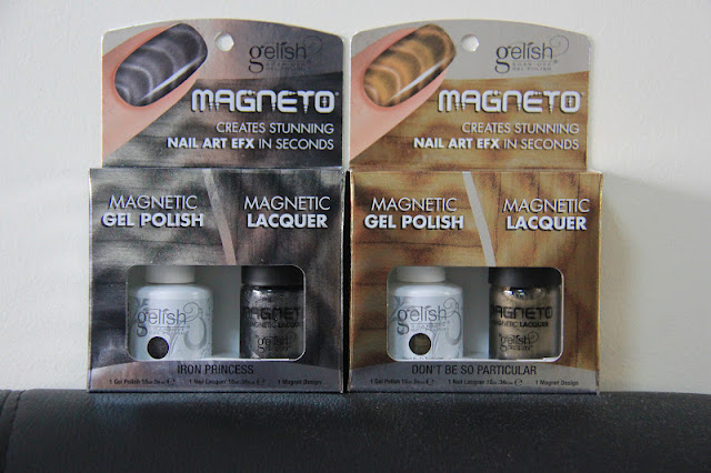 Gelish Magneto Silver and Gold