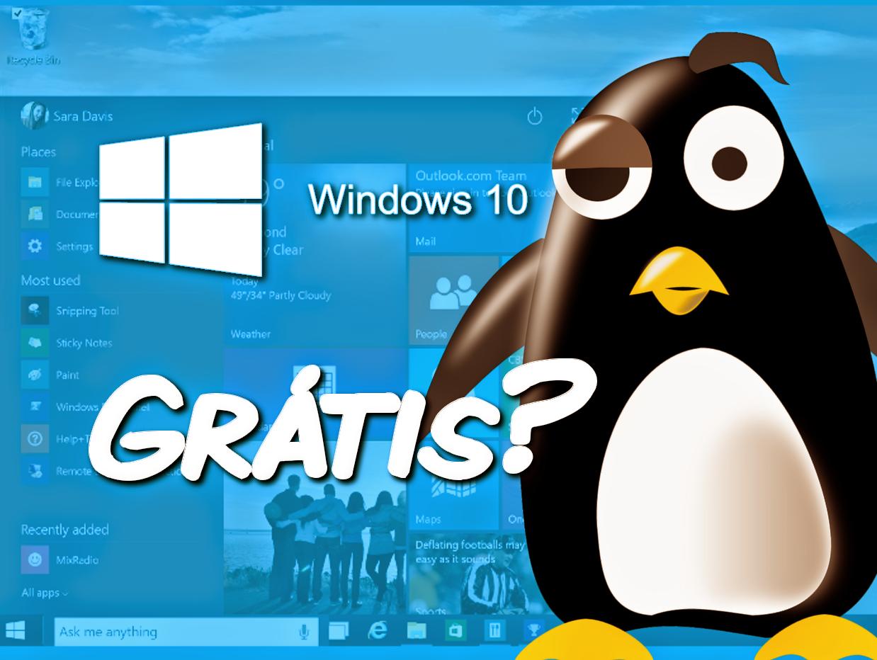 Windows 10 grátis