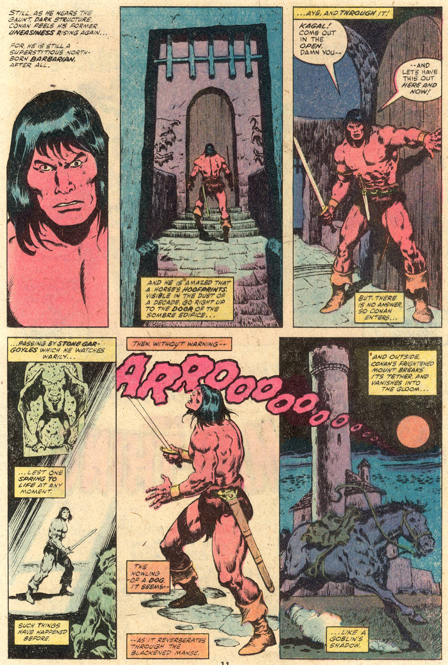 Conan the Barbarian (1970) Issue #114 #126 - English 9