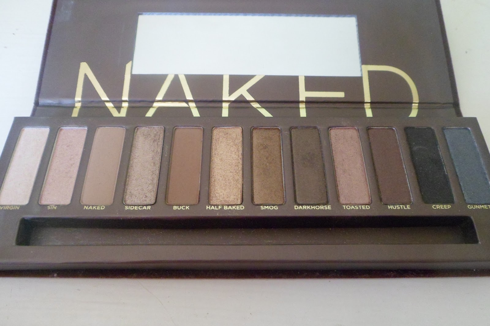 Urban decay naked palette review images 3