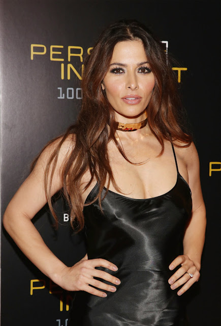 Actress, Model @ Sarah Shahi - Person Of Interest 100th Episode Celebration in NY