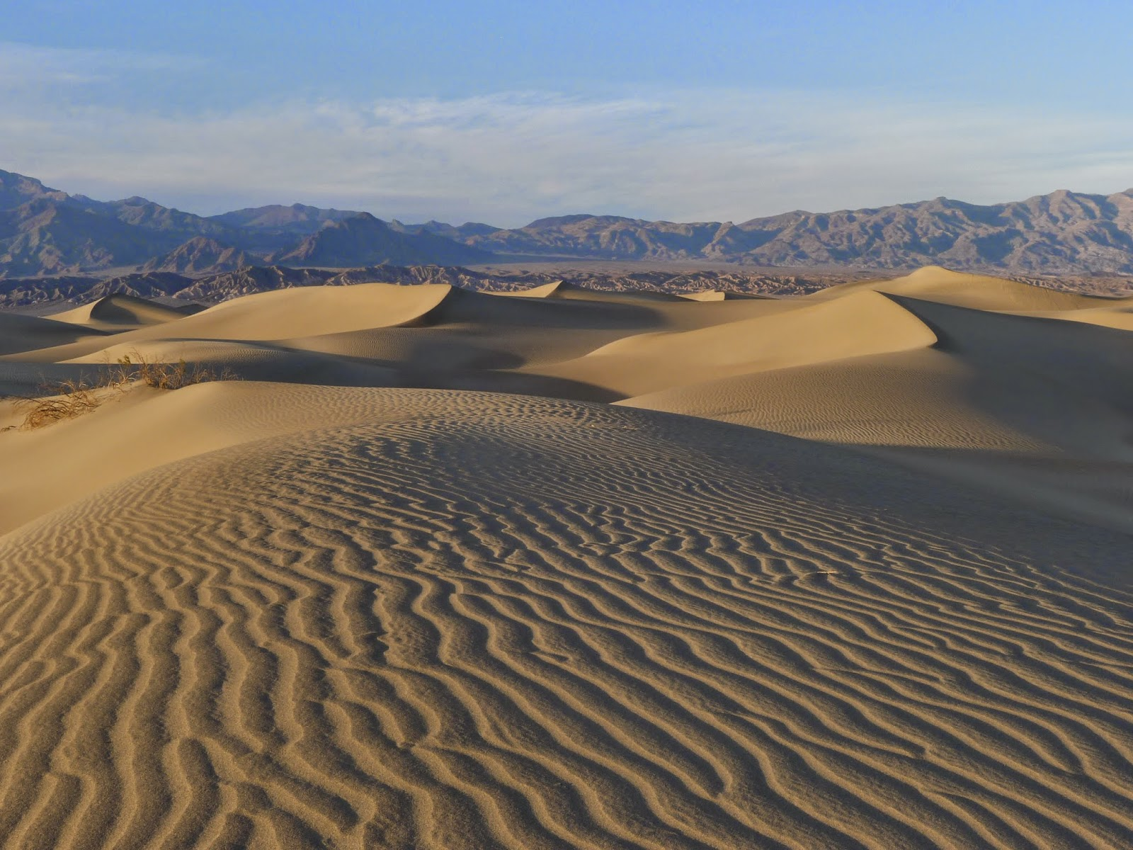 death valley sunset dunes wallpapers - Death Valley Sunset Dunes Landscape Nature Wallpaper