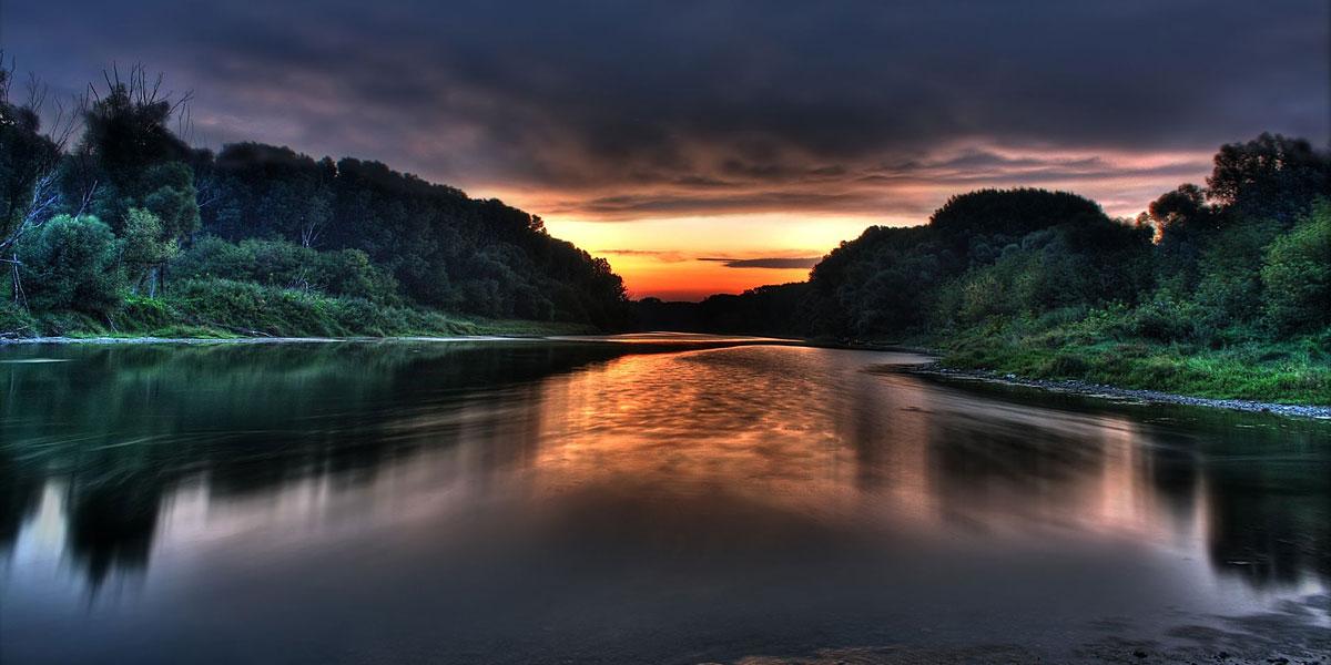 Water Sunset l 300+ Muhteşem HD Twitter Kapak Fotoğrafları