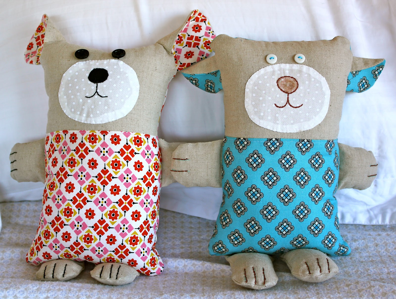 How to make simple soft toys with their own hands: patterns and schemes for beginners. Master class on making bouquets of soft toys with photo and video 56