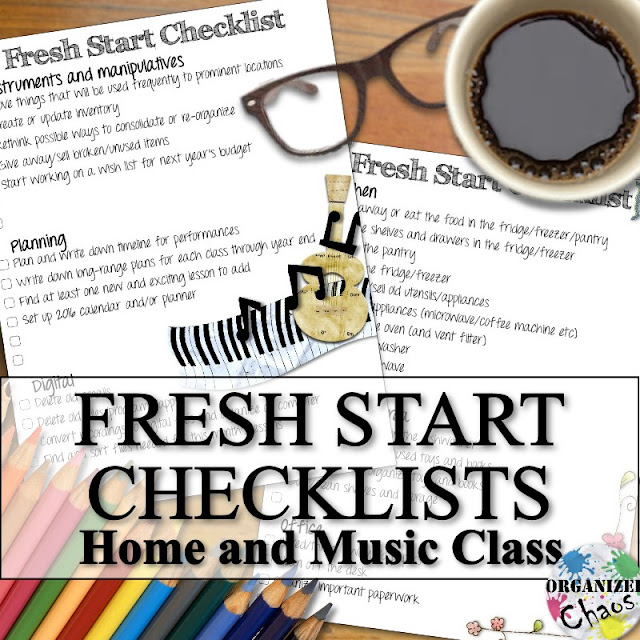 This Download Includes Two Checklists One For Home And Music Teachers But They Are Separate Files So You Can Print Out Just What Need The