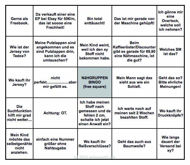 wir haben bingo