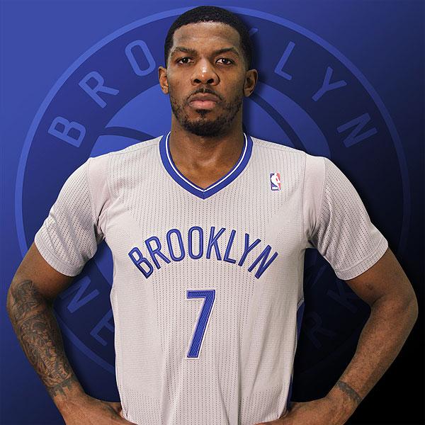 NBA 2K14 Brooklyn Dodgers Nets Sleeved Jersey