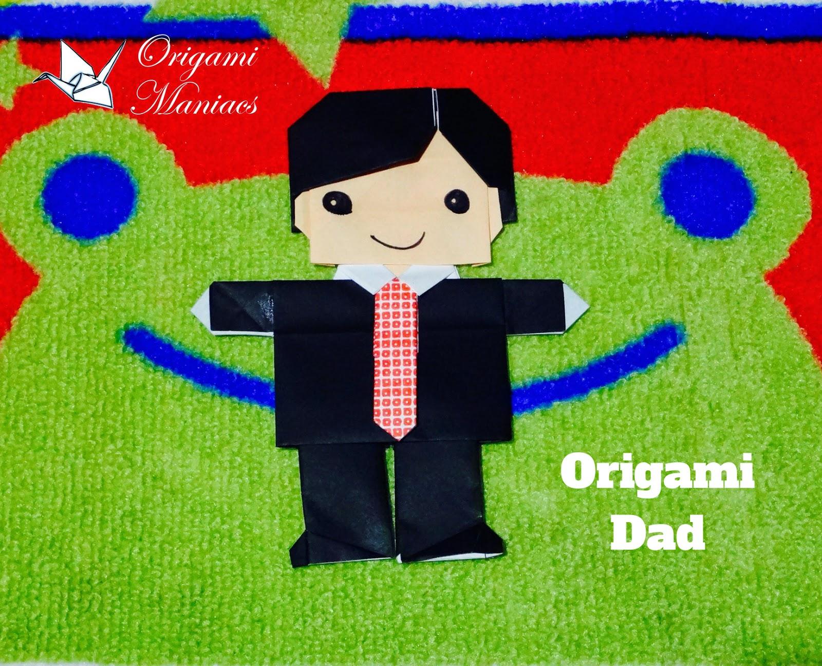 origami maniacs origami family origami dad