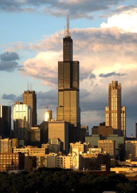 Willis Tower in Chicago, USA